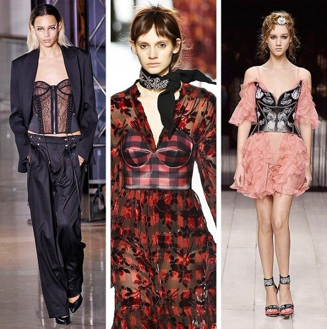 AW16 Fashion Trends on the catwalk at Versus by Versace, Preen by Thornton…