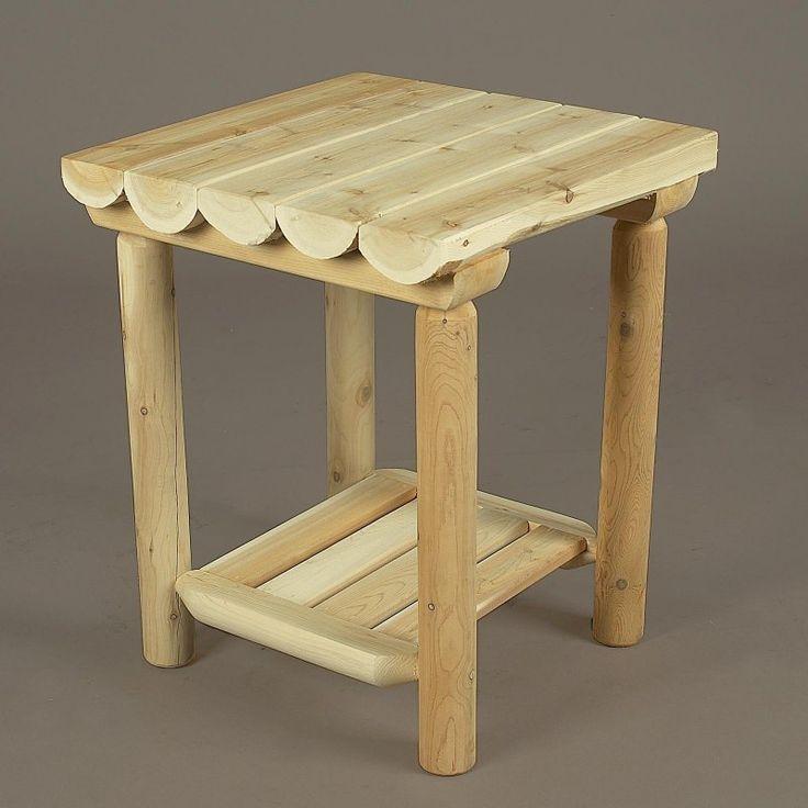Rustic Natural Cedar Furniture Gateway Nightstand   110035A