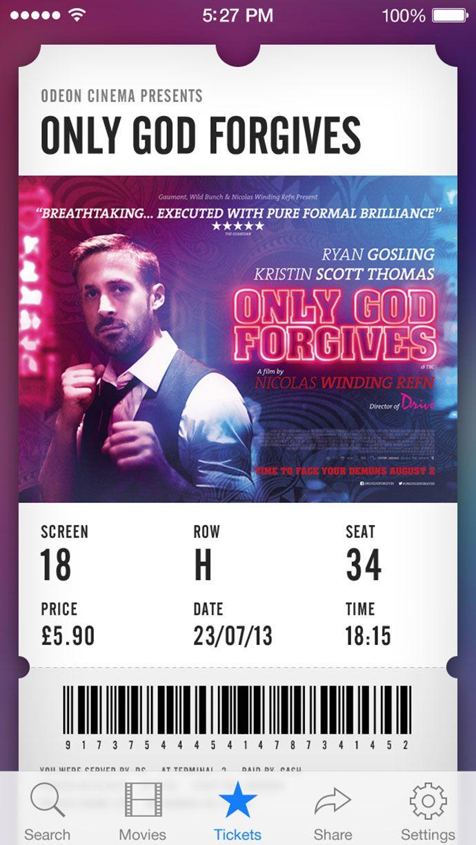 Movie Ticket By Piotr Kwiatkowski