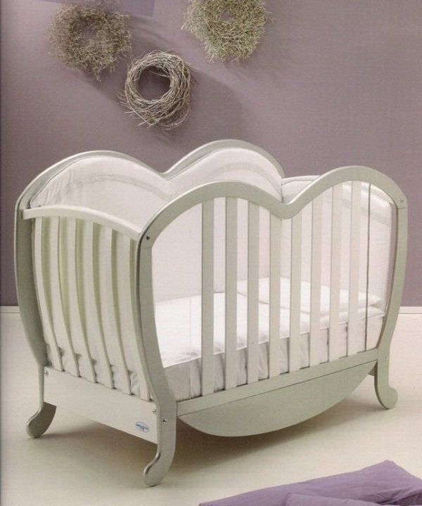 luxury baby cribs curved lines luxury furniture ideas baby room