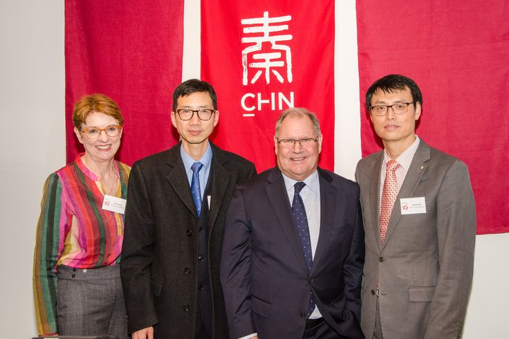 Chin Communications 25th Anniversary Guest Speakers Acting Consul-General Huang Guobin and Lord Mayor Robert Doyle AC