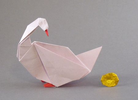 Goose and Golden Egg by Peter Engel