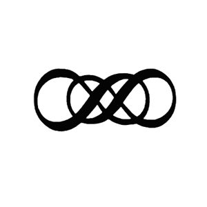 I like the simplicity, yet the depth of the meaning of the double infinity symbol. Nice.