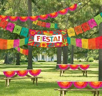 Ideas for a Summer Fiesta Party. Photo courtesy of PartyCity.com http://www.poolspaoutdoor.com/blog/entryid/96/pool-party-ideas-party-themes-decor-and-games.aspx