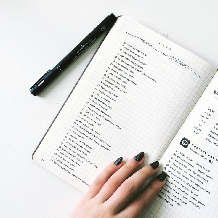 24 Minimalist Bullet Journal Layouts That