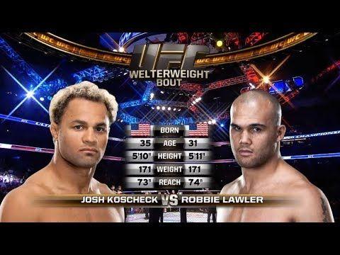 Fight Night Winnipeg Free Fight: Robbie Lawler vs Josh Koscheck