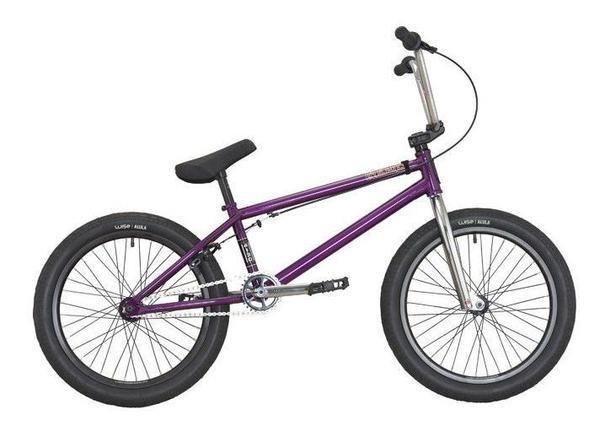 "DK Helio 20"" Complete BMX Bike Purple"