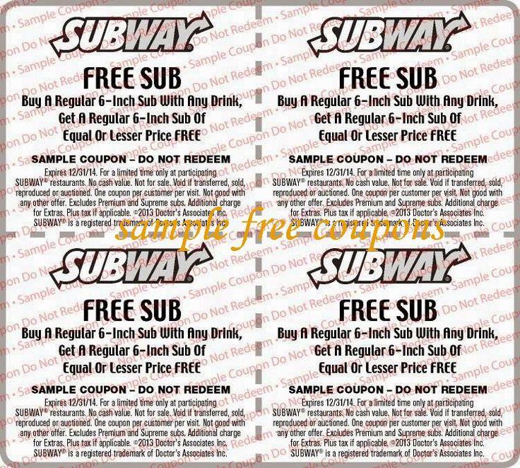 image about Printable Subway Coupons titled Subway coupon codes printable november 2018 : Nordstrom coupon