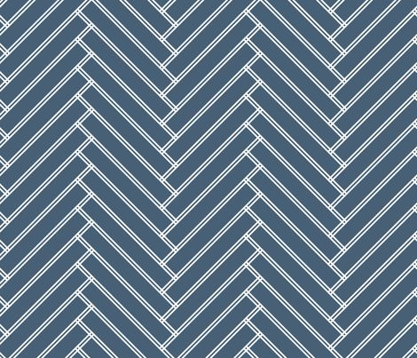 herringbone grayish navy fabric by ravynka on Spoonflower - custom fabric