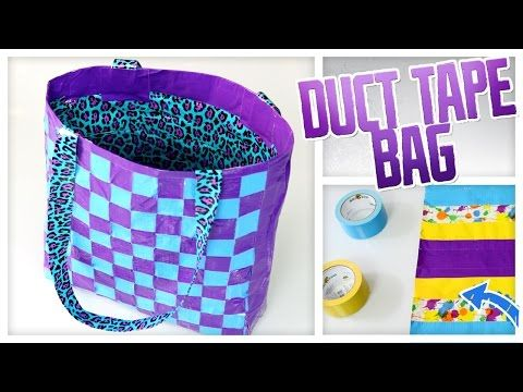 Duct Tape Tote Bag - Do It, Gurl - http://www.ducktapesale.com/duct-tape-tote-bag-do-it-gurl-2/