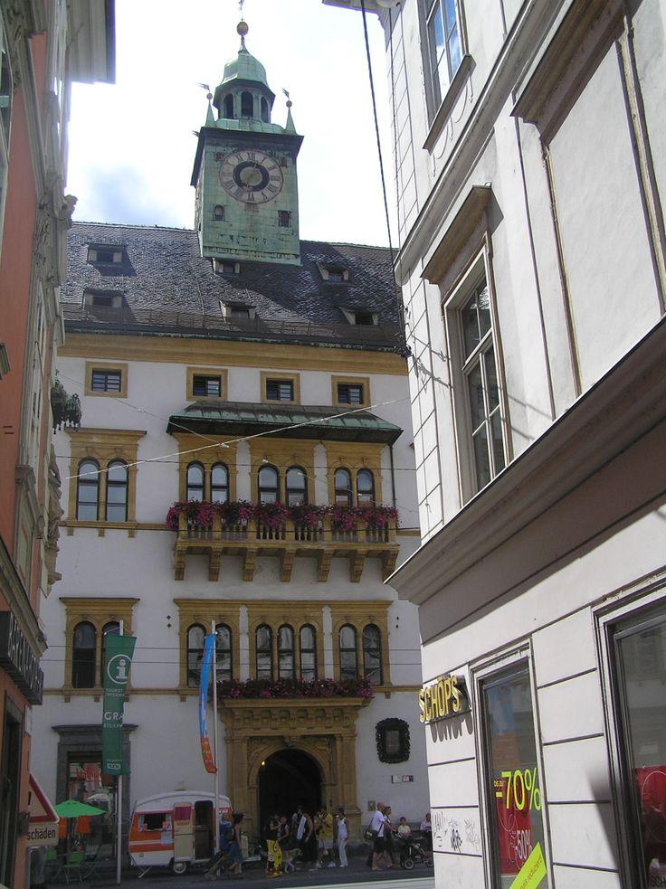Austria-Graz. Landhaus. (mit Bildern)   Landhaus, Graz, Haus