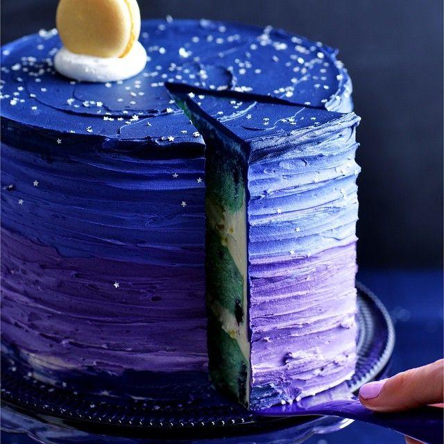 Blue Moon Dream Cake Recipe