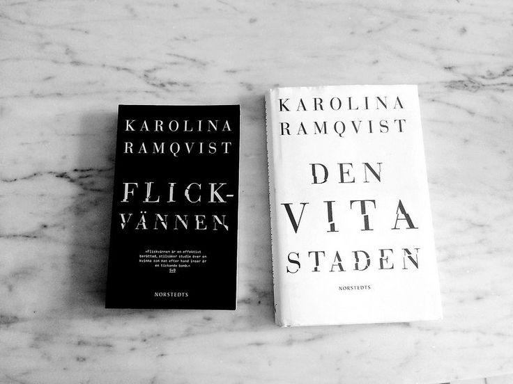 flickvännen + den vita staden. by karolina ramqvist.