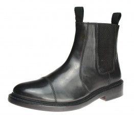 Bench Grade Stratford Black Slip On  Chelsea, Ankle Boots Pull Welted Dealer Mens -  - £69.99