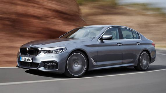 Седан BMW 5-серии 2018 / БМВ 5-серии 2018
