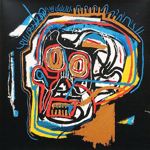 Head - Jean-Michel Basquiat - Prints - Original Prints