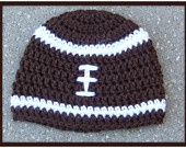 Football hat for baby boy....I think I need to learn to crochet!: Baby Boy Football, Crochet Baby Boys, Newborns Football, Crochet Baby Hats, Photo Props, Crochet Hats, Crochet Football Hats, Baby Boys Hats, Crochet Boys