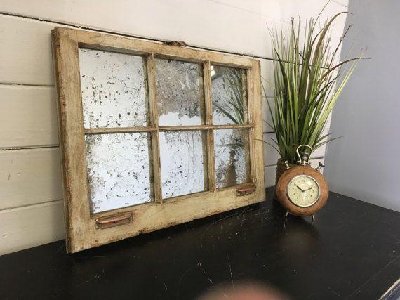 17 best ideas about window pane mirror on pinterest for Window mirror ideas
