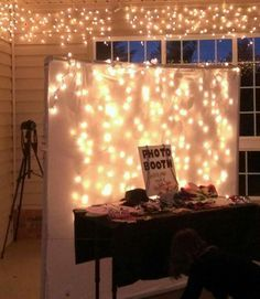 DIY...PHOTO BOOTH...so easy to do!