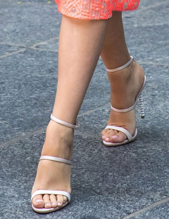 Blake Lively in Sophia Webster sandals