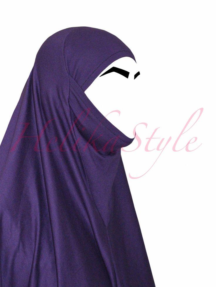 Как сшить аль-Амира хиджаб иранского стиля. Хиджаб с подбородком  | HelikaStyle