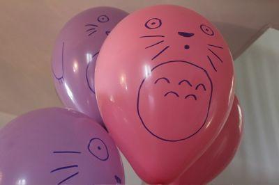 totoro balloons