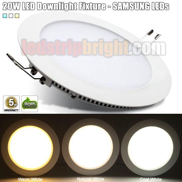 20W LED Can light Fixture - SAMSUNG LEDs Inside