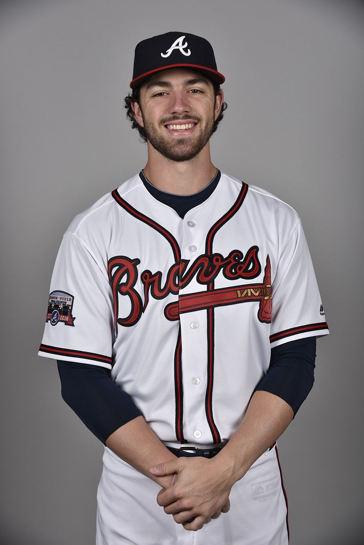 LAKE BUENA VISTA, FL - FEBRUARY 26: Dansby Swanson #80 of the Atlanta Braves poses during Photo Day on Friday, February 26, 2016 at Champion Stadium in Lake Buena Vista, Florida. (Photo by Tony Firriolo/MLB Photos via Getty Images)