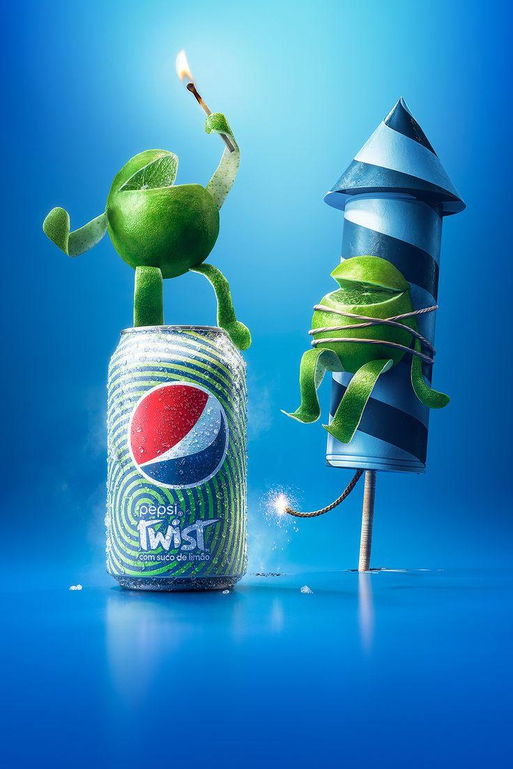 Pepsi Twist on Behance