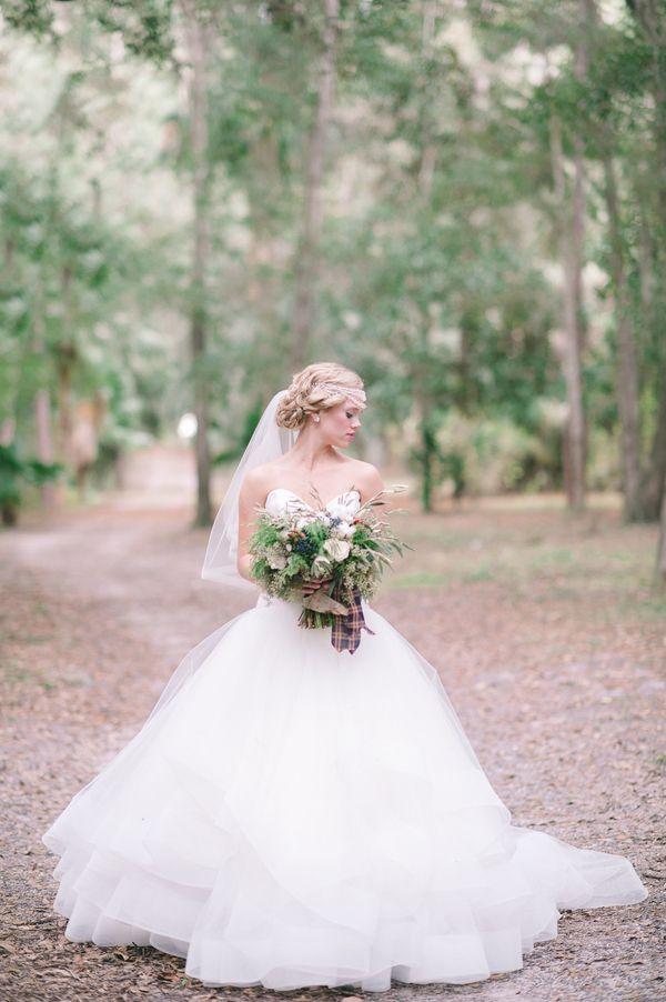 Gorgeous tulle ballgown