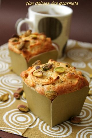Muffins pommes pistaches