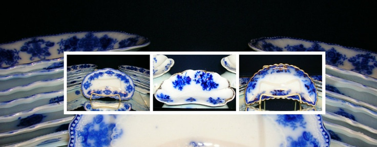 Bone dishes from the 1800's