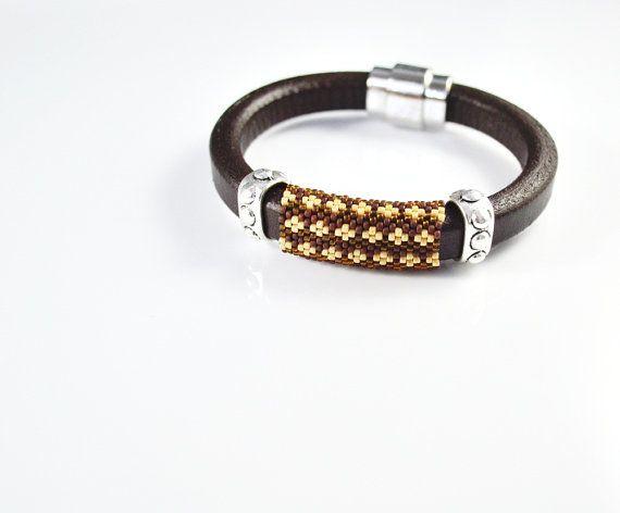 Men's braided bracelet strap bracelet for men  by SzkatulkaAmi