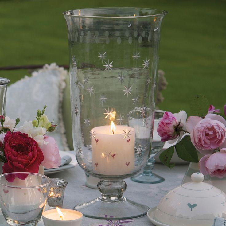 Hurricane Vase - Glass by Susie Watson Designs