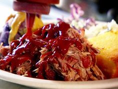 Oven-Roasted Pulled Pork Sandwiches Recipe : Tyler Florence : Food Network Make to freeze