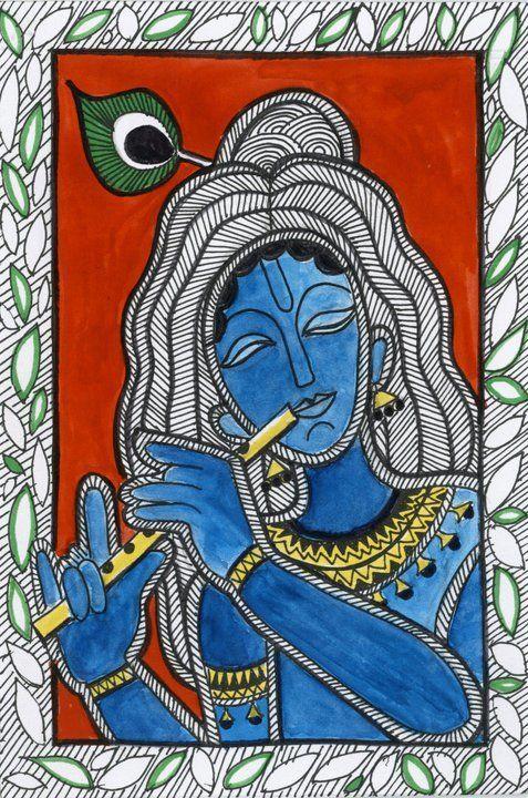 234 best Madhubani Art images on Pinterest | Madhubani art, Indian ...
