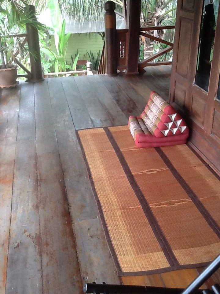 Thai cushions and mats
