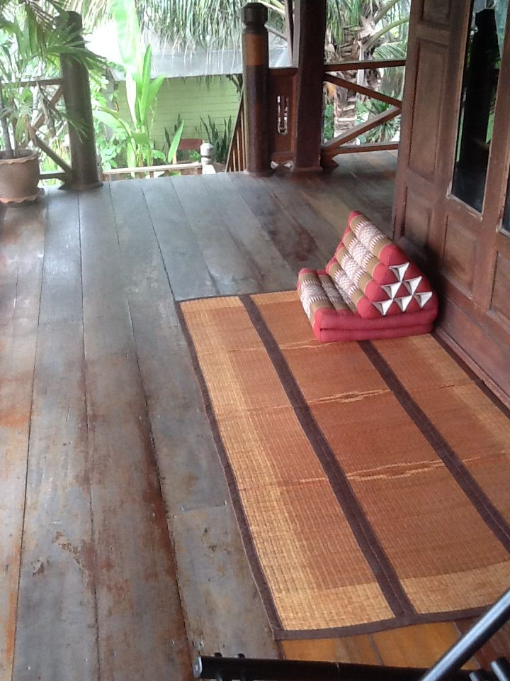 Thai cushions and mats