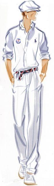 Ralph Lauren's signature U.S. Olympic team uniforms – Paris popcorn