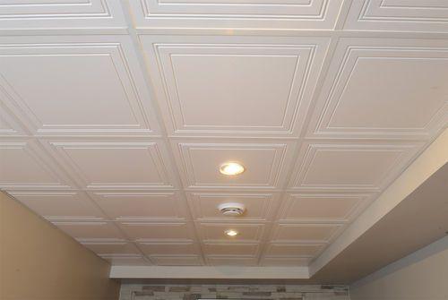 Faux-plafond en bois / en dalle / décoratif ENCORE MUR design