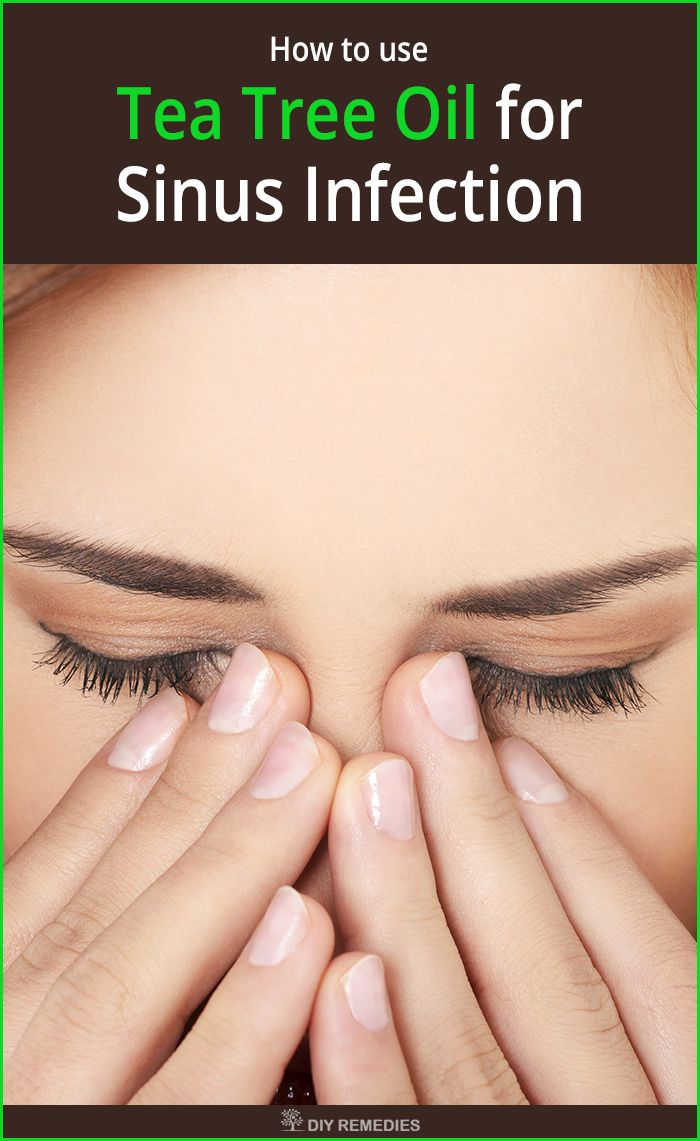 How is Tea Tree Oil used for Sinus Infection? The listed below are some of the best ways of using tea tree oil for treating your sinus infection. Follow these remedies regularly without any interruption till you cleared the infection.