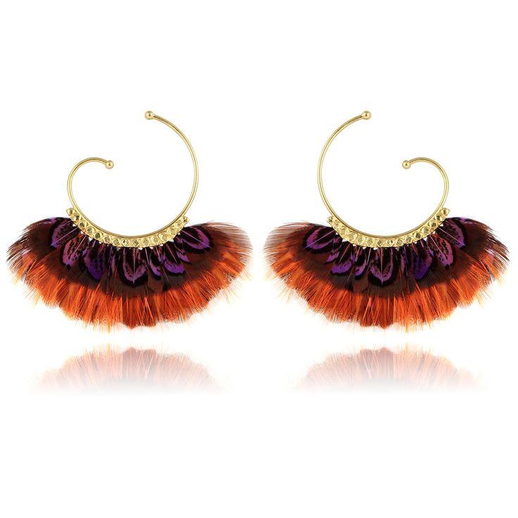 CRÉOLES BUZIOS OR - Boucles d'oreilles - Bijoux