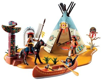 Native American Indian playset