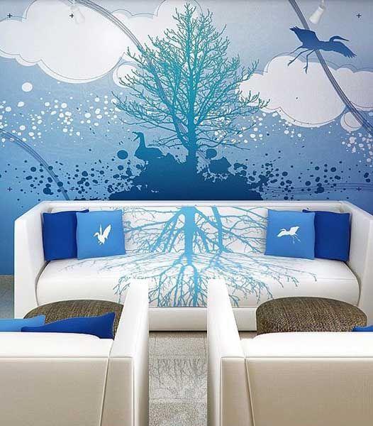 15 besten Wandsticker Bilder auf Pinterest Blumen, Wandtattoos - dekoration für wohnzimmer