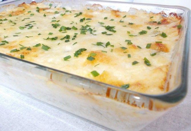 Krémes sajtos-joghurtos krumpli