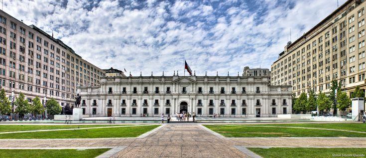Palacio de la Moneda - Santiago de Chile Fotografía, Alonso Jimenez Quesada