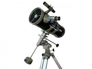Telescópio Refrator com Amplificação de 2100x - Greika 1400150 EQ III com Tripé…