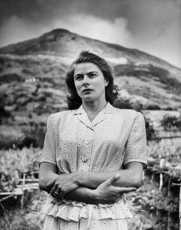 #Stromboli -  film directed by Roberto Rossellini and featuring Ingrid Bergman   #sicilyandcinema #movies