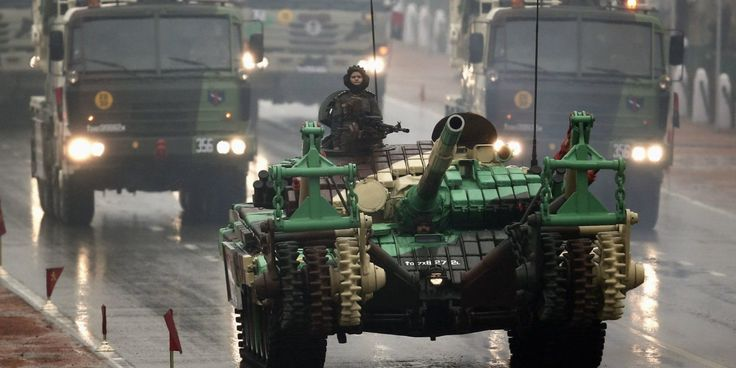 India's Outgunned Russia And Saudi Arabia To Become The World's Fourth-Largest Defense Spender | The Huffington Post