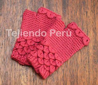 Crochet Crocodile Mittens - Tutorial ❥ 4U hilariafina http://www.pinterest.com/hilariafina/